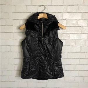 Lululemon Fleece Glacier Vest in Black Size 6